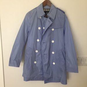 Burberry rain coat. Gently used.